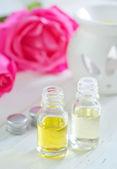 óleo de rosa — Fotografia Stock