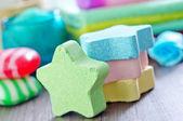 Jabón de color — Foto de Stock