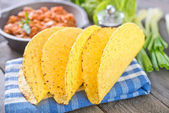 Ingredients for taco — Stock Photo