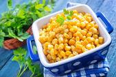 сладкая кукуруза — Стоковое фото