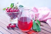 樱桃汁 — 图库照片
