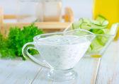 White sauce — Stock Photo