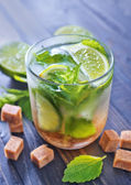Mojito in glass — Stock Photo