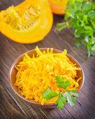 Pumpkin in bowl — Stock Photo