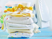 Baby clothes — Stock Photo