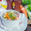 Fresh soup — Stock Photo #50636871