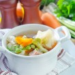 Fresh soup — Stock Photo #50636877