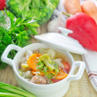 Fresh soup — Stock Photo #50636881
