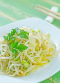 Salad with sprouts — Stock Photo