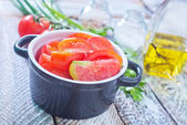 Tomato salad — Stock Photo