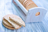 Cookies on table — Stock Photo