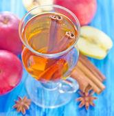 Zumo de manzana — Foto de Stock