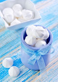 Tasty meringue — Stock Photo