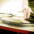 Dj playing - Stock Photo