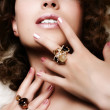 Jewelry and Beauty — Stock Photo