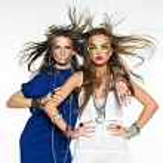 Pretty girls with bijouterie. Fashion photo — Stock Photo