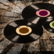 Old vinyl records - Stock Photo