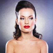 Woman with beautiful make-up — Stock Photo