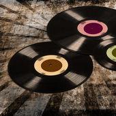 Old vinyl records — Stock Photo