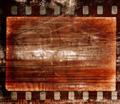 Grunge film frame — Stock Photo
