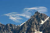 Mountain clouds — Stock Photo
