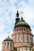 Catedral de la anunciación en kharkiv, ucrania — Foto de Stock