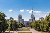 Gosprom administrative complex in Kharkiv, Ukraine — Stock Photo