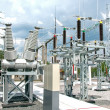 Stock Photo: Electric power substation