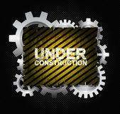 Under konstruktion — Stockvektor