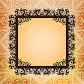Ornamented frame — Stock Vector