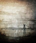 Grunge fondo industrial — Foto de Stock