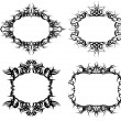 Stock Vector: Ornamented frames