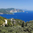 Stock Video: Corfu coastline