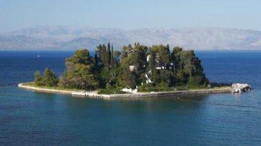 科孚岛海岸线 — 图库视频影像