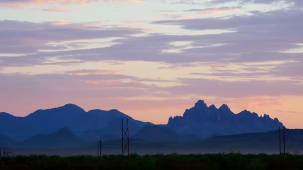Montañas en arizona, Estados Unidos — Vídeo de stock