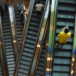 Stockvideo: Escalators