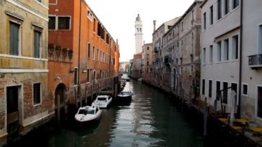 Venice canal — Vídeo Stock