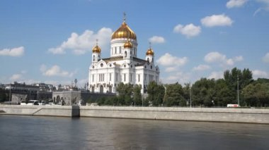 Cathedral of Christ the Savior, Moscow — Stock Video