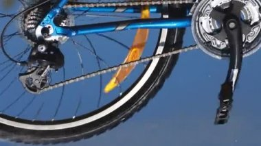 Bicycle driving — Video Stock