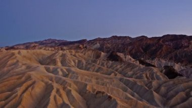 Zabriskie point, time-lapse — Stockvideo