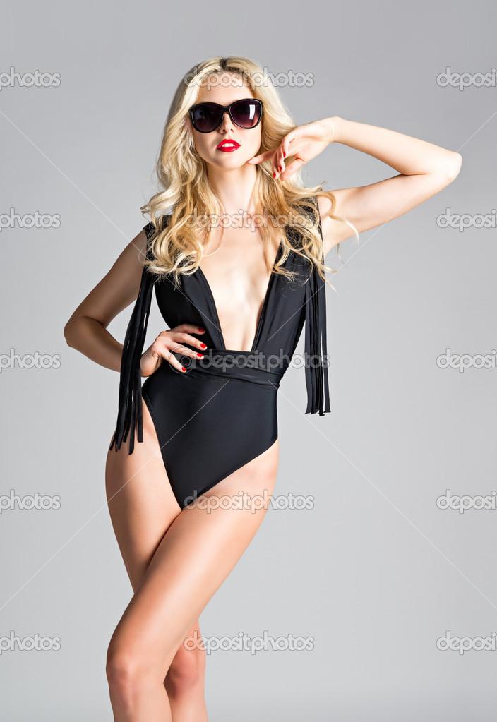 Sexy silonky mlada holka