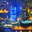 Shanghai aerial at dusk — Stock Photo #13183534