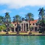 Miami Luxury house — Stock Photo