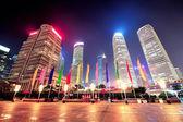Shanghai urban skyscrapers — Stock Photo