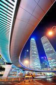 Shanghai urban street view — Stock Photo