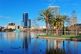 Orlando morning — Stock Photo