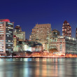 Stok fotoğraf: New York City Manhattan midtown skyline