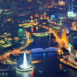 Shanghai aerial at dusk — Stock Photo #13505671