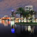 Orlando night panorama — Stock Photo #13824200