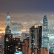 Hong Kong at night — Lizenzfreies Foto